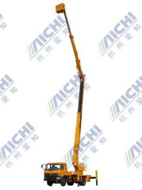 杭州爱知HYL5140JGK混合臂式高空作业车