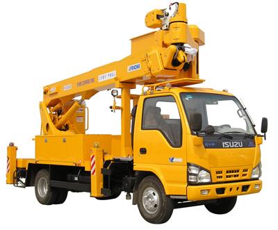 杭州爱知HYL5078JGK伸缩臂式高空作业车