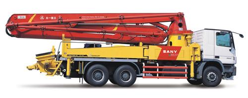 三一重工SY5296THB 37E混凝土输送泵车