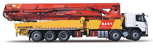 三一重工SY5510THB 620C-8混凝土输送泵车