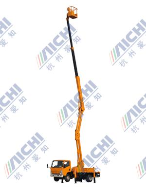 杭州爱知HYL5190JGK混合式高空作业车高清图 - 外观