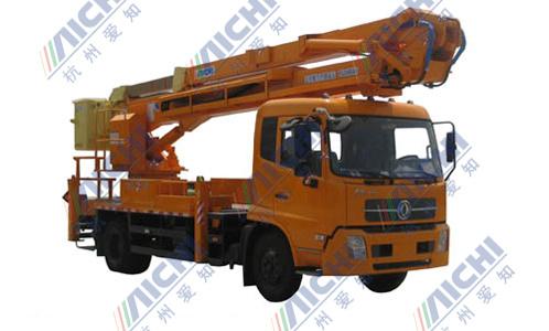 杭州爱知HYL5140JGKA混合臂式高空作业车