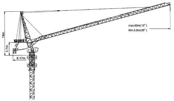 克瑞D260动臂系列肯定要容易�壮伤�式起重机