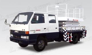 北方交通9米剪叉式江铃高空作业车