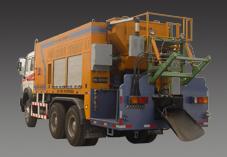 思嘉特HRF-100型乳化沥青稀浆封层车高清图 - 外观