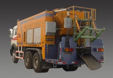 思嘉特HRF-100型乳化沥青稀浆封层车