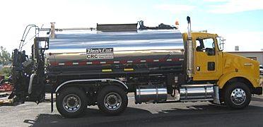 凯联-美国百开 BCRS-502、CRC型智能橡胶沥青洒布车(单搅龙)