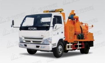 北方交通KFM5062TYH滚筒式道路养护车高清图 - 外观