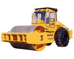 酒井SV900D/SV900DV单钢轮振动压路机高清图 - 外观