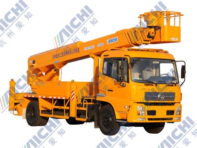 杭州爱知HYL5112JGKA缩臂式高空作业车高清图 - 外观