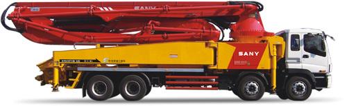 三一重工SY5418THB 520C-8混凝土输送泵车