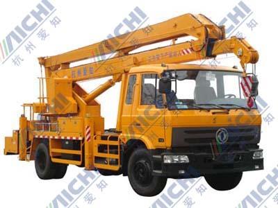 杭州爱知HYL5121JGK混合臂式高空作业车
