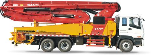 三一重工SY5313THB 46E混凝土输送泵车