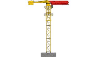 三一重工HGT39布料杆高清图 - 外观