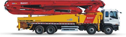 三一重工SY5419THB 56E混凝土输送泵车