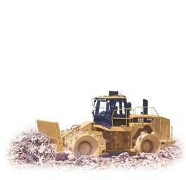 卡特彼勒CAT®826H填埋压土机