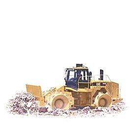 卡特彼勒826H填埋压土机
