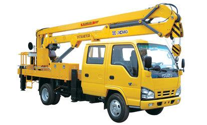 徐工XZJ5063JGK17米高空作业车