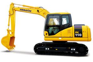 小松PC110-7液压挖掘机