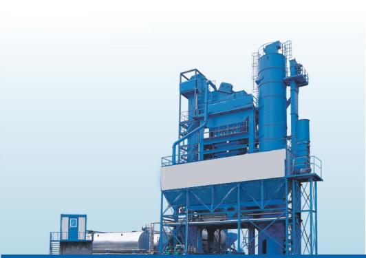 無錫華通J3000XC集裝箱下置式瀝青混合料攪拌設備