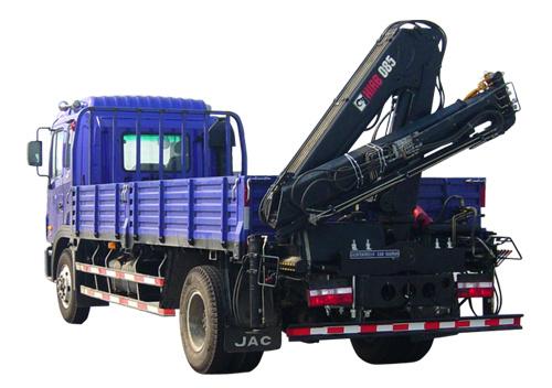 石煤机QYS-3.2ZⅡ3.2吨折臂起重机