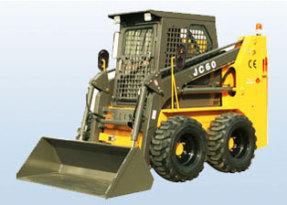 鲁岳JC60轮式滑移装载机