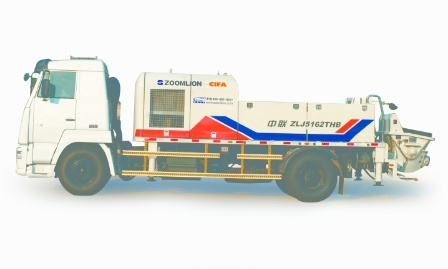 中联重科ZLJ5162THB(双动力)混凝土车载泵