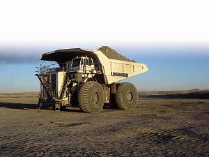 利勃海尔T 282 C矿用卡车高清图 - 外观