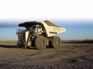 利勃海尔T 282 C矿用卡车