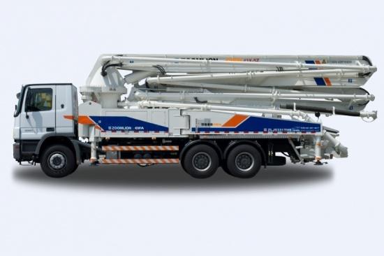 中联重科43米系列混凝土泵车