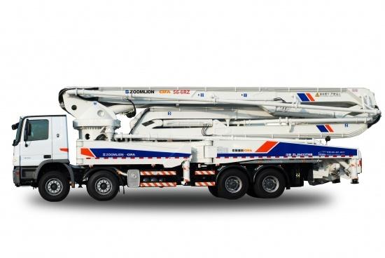 中联重科56米六节臂系列混凝土泵车