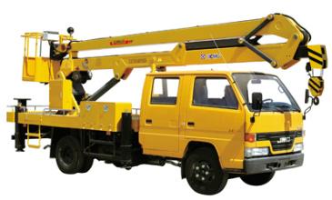 徐工XZJ5064JGK14米高空作业车高清图 - 外观