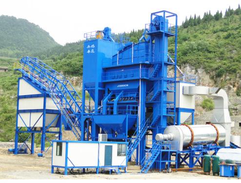 無錫華通J3000CN型集裝箱式瀝青混合料攪拌設備