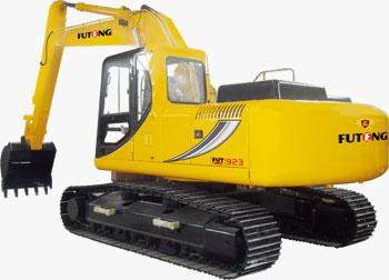 福工FUT923轮式挖掘机高清图 - 外观