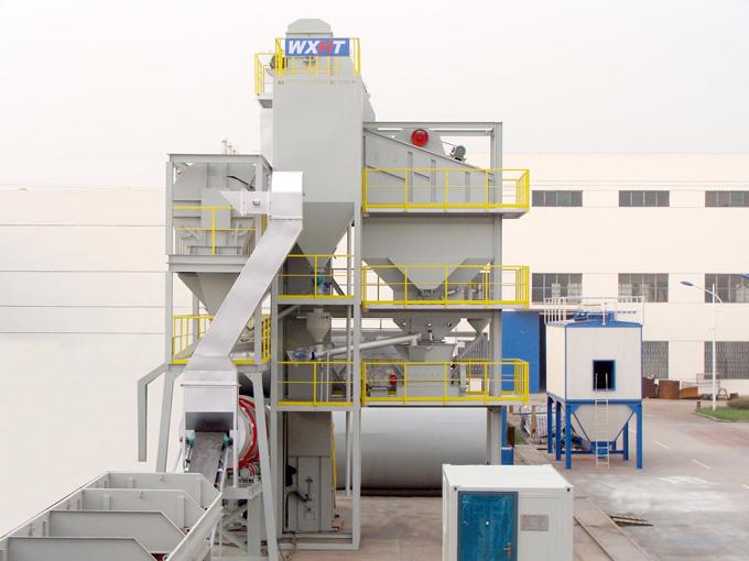 无锡华通J-800集装箱式沥青混合料搅拌设备高清图 - 外观