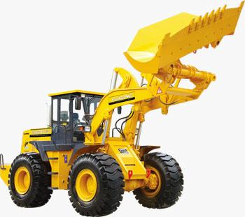福工FUGC955轮式装载机高清图 - 外观