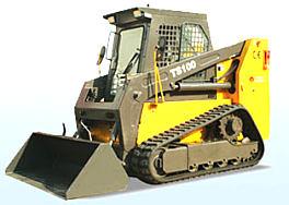 鲁岳TS100履带式滑移装载机