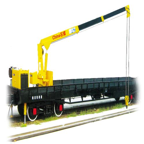 石煤机QYG系列轨道用起重车高清图 - 外观