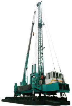 山河智能ZYJ600F-800F静力沉管灌注压桩机