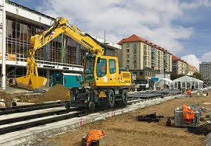 利勃海尔A900 C ZW轮式挖掘机