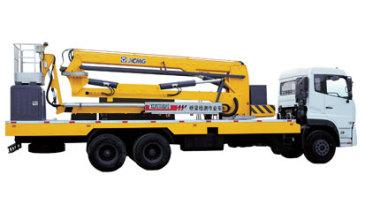 徐工12米臂架式橋梁檢測車高清圖 - 外觀