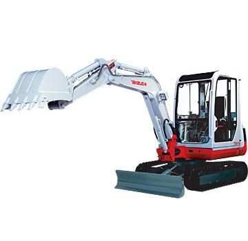 竹内TB140全液压小型挖掘机