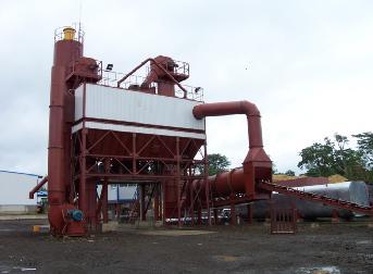 鸿达LB4000沥青混合料搅拌设备高清图 - 外观