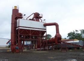鸿达LB4000沥青混合料搅拌设备