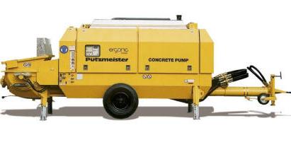 普茨迈斯特BSA 2109 HP D拖泵高清图 - 外观