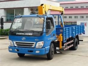 牡丹江专用汽车MQ5103JSQ随车起重机高清图 - 外观