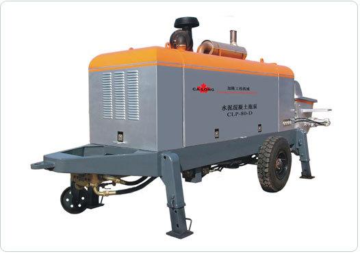 北京加隆CLT-80托式混凝土输送泵