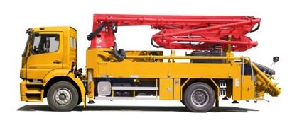 普茨迈斯特M 20-4泵车高清图 - 外观