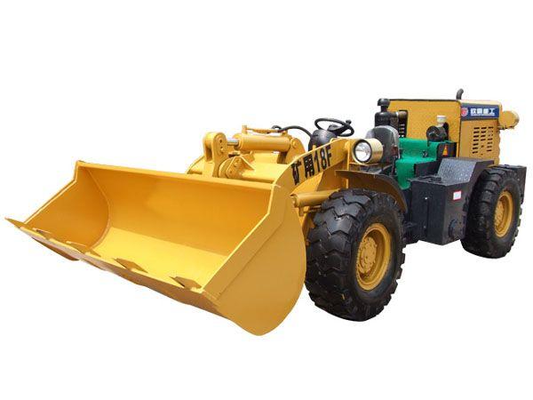 欧霸重工矿用18F装载机高清图 - 外观