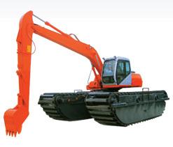 熔盛ZY210SD湿地挖掘机